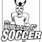 Soccer Coloring Pages Kids Printable - 74mla