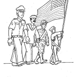 Veteran's Day Coloring Pages for Preschool - 7avsm