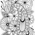 Abstract Flowers Coloring Pages for Adults   7cv31