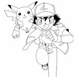 ash and pikachu coloring pages   7ajd0