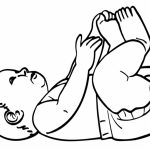 Baby Coloring Pages Free   62ab2