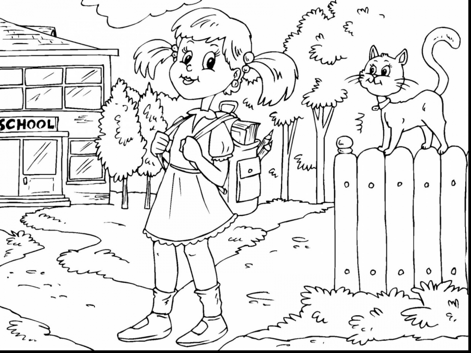 Back to School Coloring Pages Free to Print   04nt6
