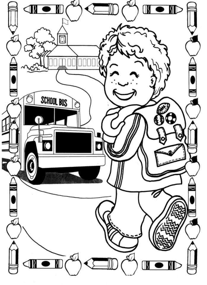 free back to school coloring pages 100 images back to school