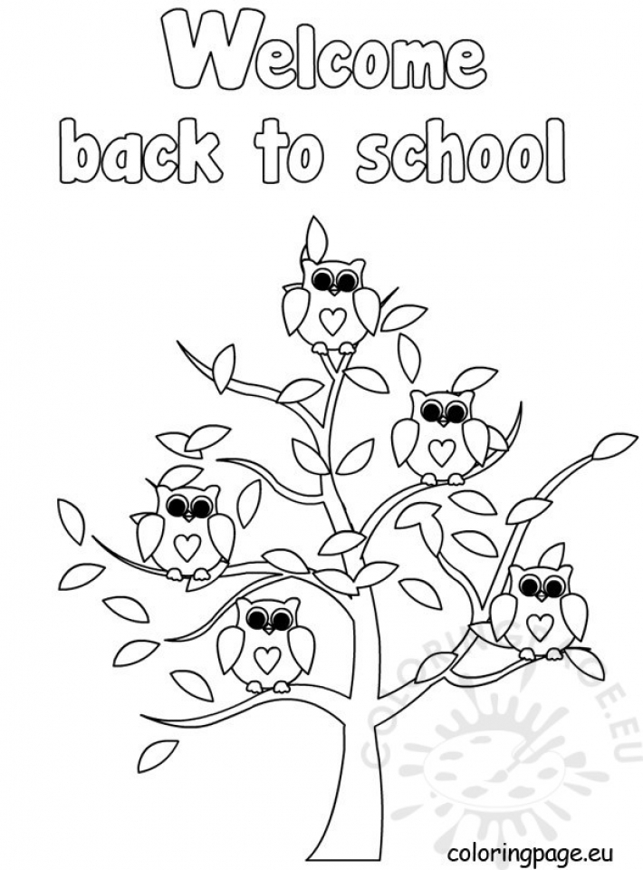 Get This Back to School Coloring
