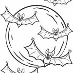 Bat Coloring Pages Free   06784