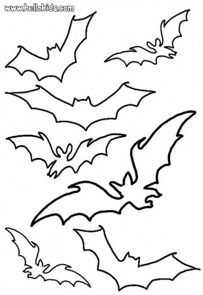 Bat Coloring Pages to Print   27592
