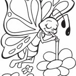 Butterfly Coloring Pages for Preschoolers   8fg90