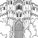 Castle Coloring Pages Printable   72nd9