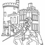 Castle Coloring Pages to Print for Free   ga2n9