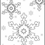 Christmas Snowflake Coloring Pages   31664