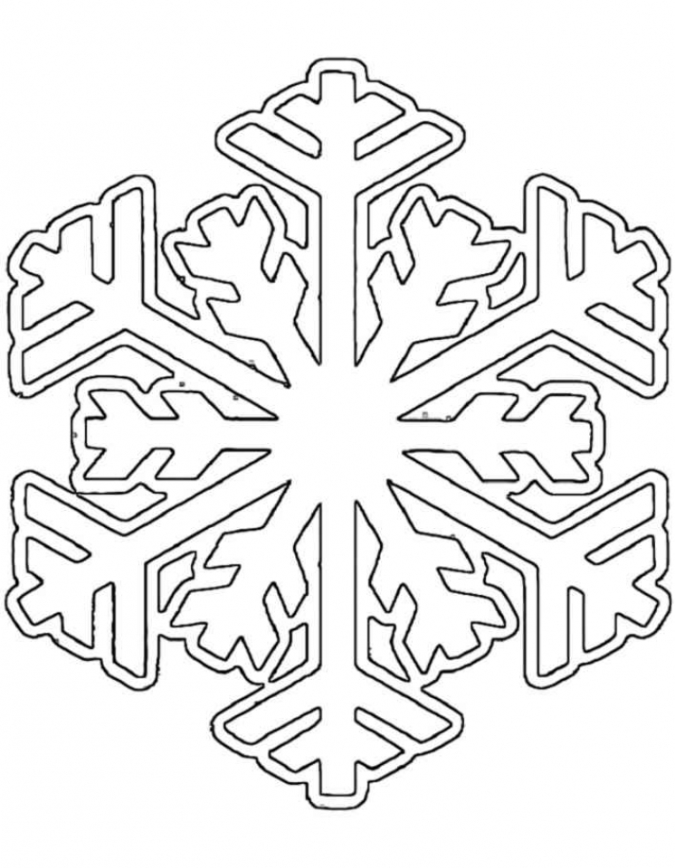 Christmas Snowflake Coloring Pages   37502