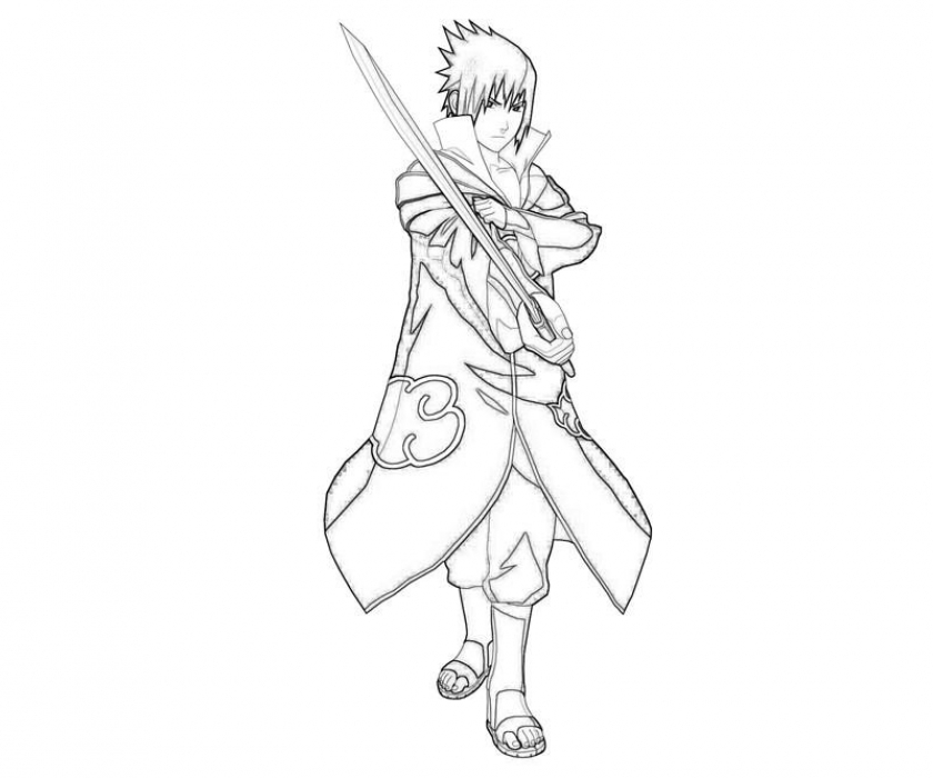 Coloring Pages of Naruto   34152