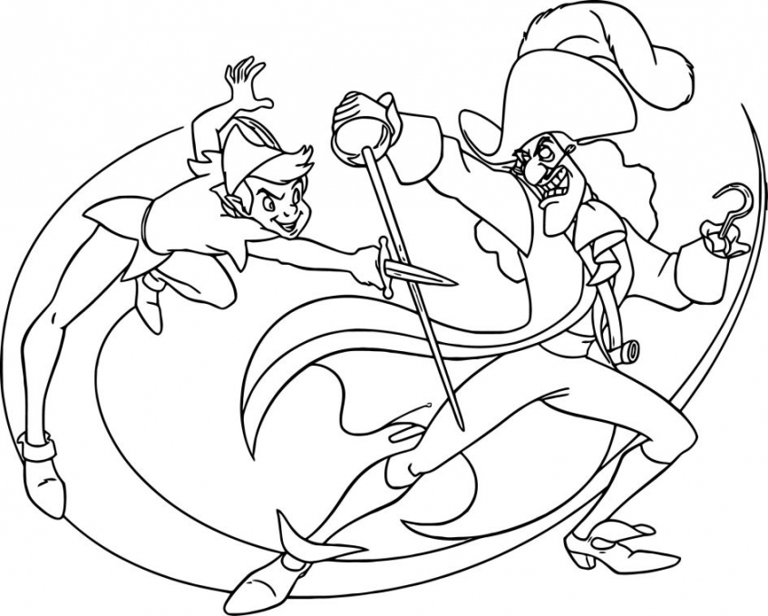 Coloring Pages of Peter Pan to Print   4cnqz