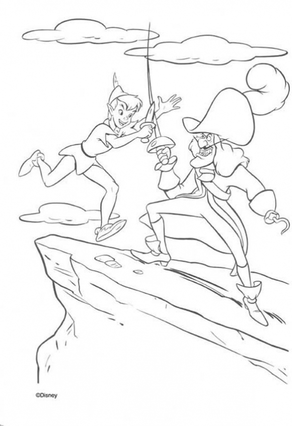 Coloring Pages of Peter Pan to Print   prlb