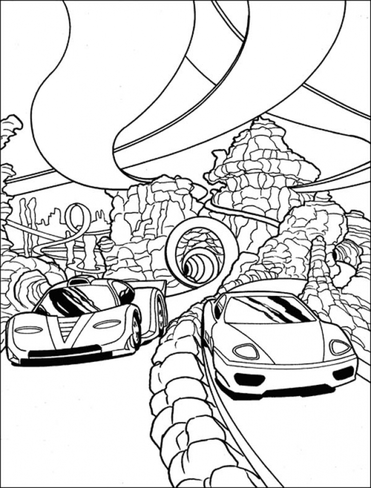 Get This Cool Race Car Coloring Pages for Kids 6cbg7