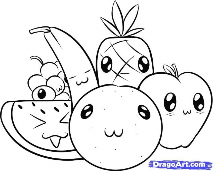 Get This Cute Food coloring pages 7dv3m