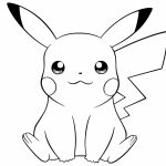 Cute Pikachu Coloring Pages   8vbg3