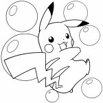 Cute Pikachu Coloring Pages   bcye2