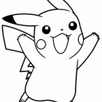 Cute Pikachu Coloring Pages   yag43