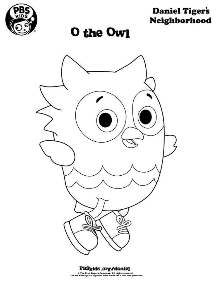 Daniel the Tiger Coloring Pages   84518
