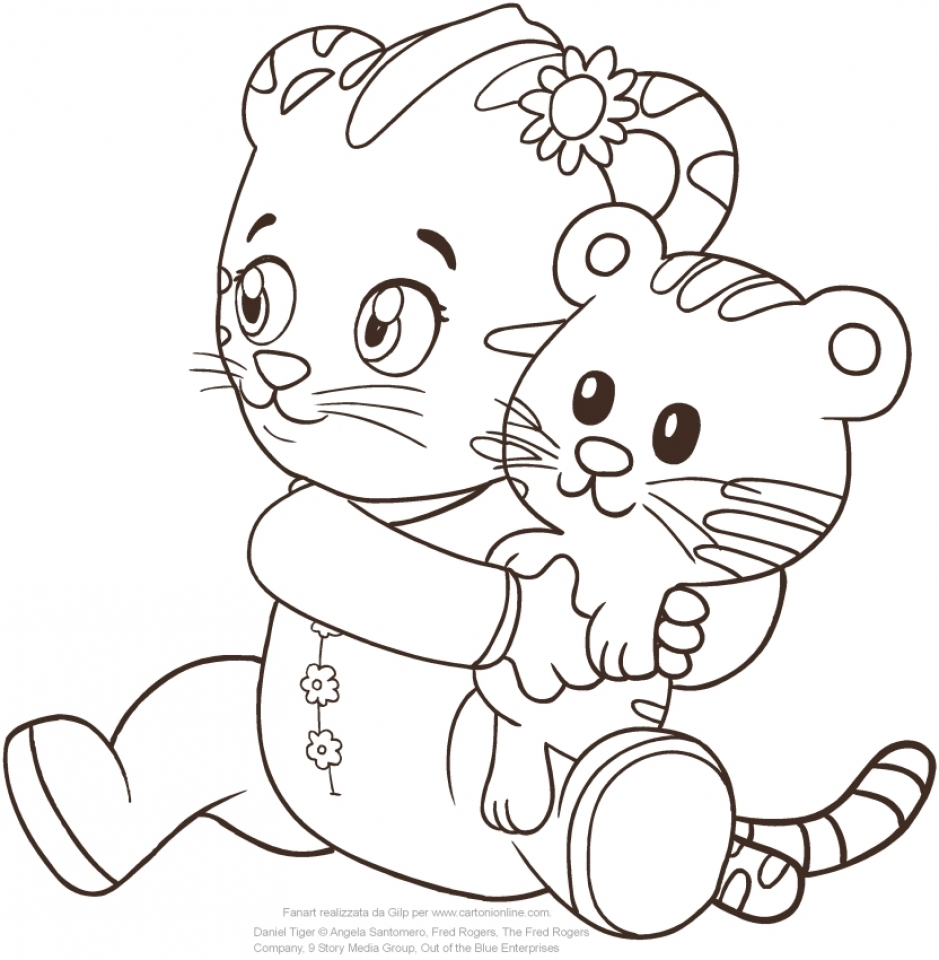 Printable coloring pages daniel tiger - Daniel Tiger Coloring Pages Printable 15a31