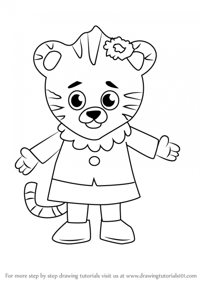 Daniel Tiger Coloring Pages to Print   7ahra