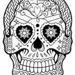 Day of the Dead Sugar Skulls Coloring Pages   62719