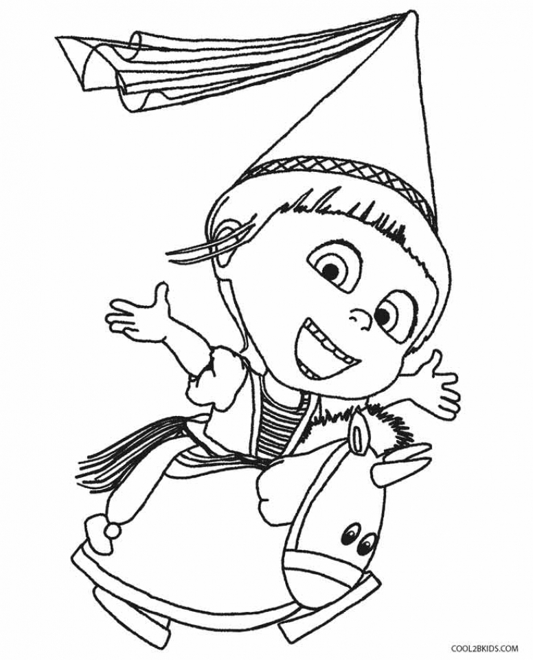 Get This Despicable Me Coloring Pages For Kids 09461