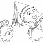 Despicable Me Coloring Pages Free for Toddlers   2179s