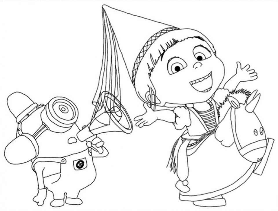 despicable me coloring pages free for toddlers 2179s - Free Despicable Me Coloring Pages
