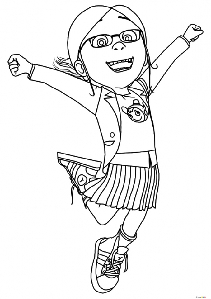 81 Despicable Me Coloring Pages