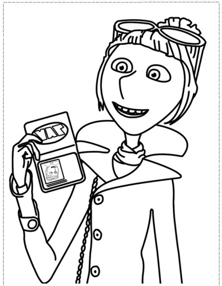 Get This Despicable Me Coloring Pages Free for Toddlers 7dg3s