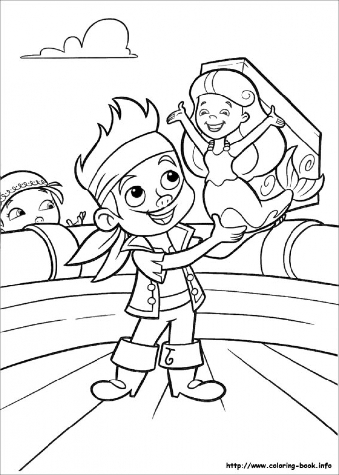 Get this disney jake and the neverland pirates coloring for Jake the pirate coloring pages