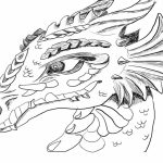 Dragon Coloring Pages for Adults Free   t2n7