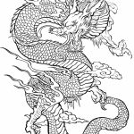 Dragon Coloring Pages for Adults to Print   7210s