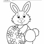 Easter Bunny Coloring Pages Printable   56381