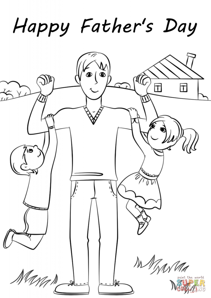fathers day color pages - get this father 39 s day card coloring pages 4ak80