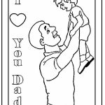 Father's Day Coloring Pages Free   a18m7