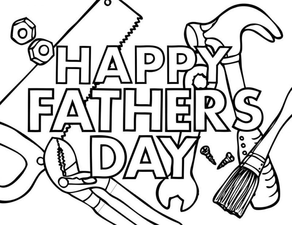 Get this father 39 s day coloring pages free printable ayem2 Coloring book day