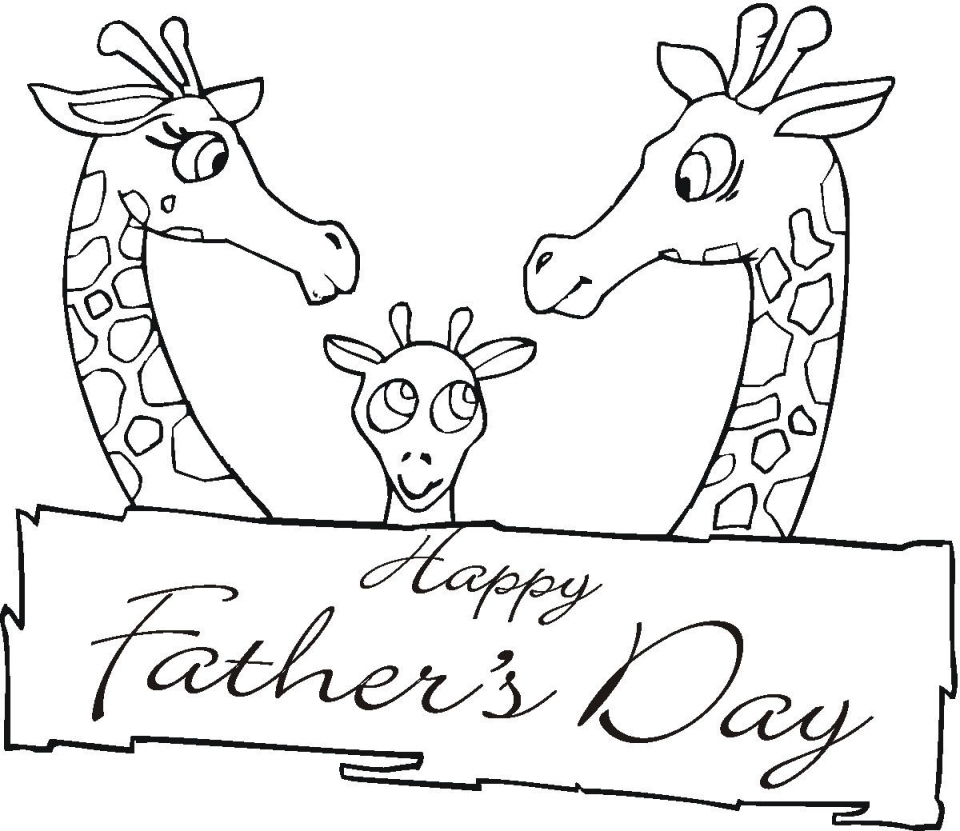 Father's Day Coloring Pages Printable   y17wm