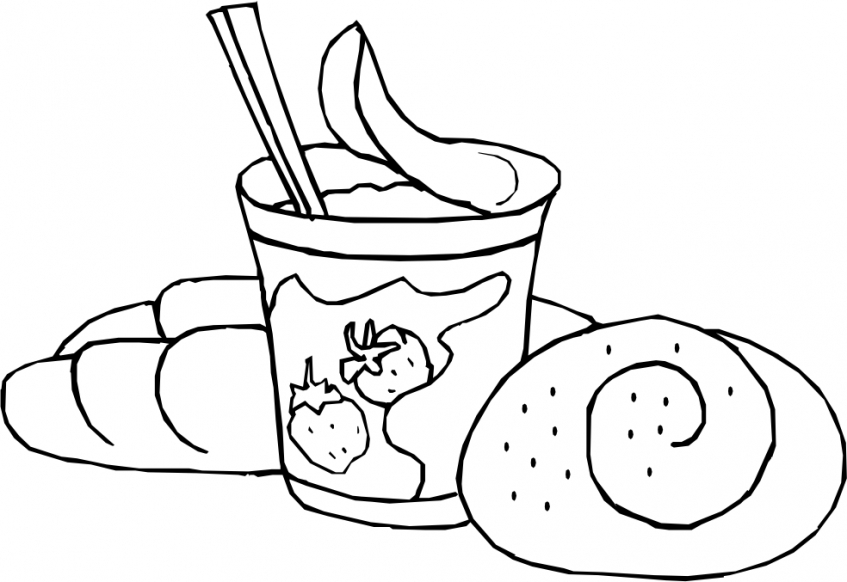Food Coloring Pages free   903ja