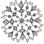Free Snowflake Coloring Pages to Print Out   31679