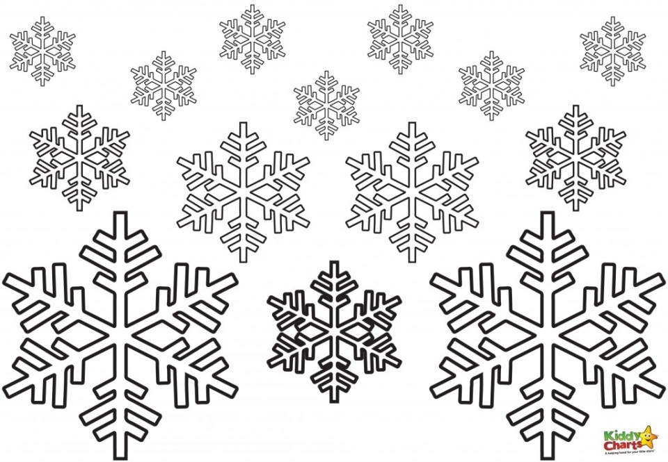 20+ Free Printable Snowflake Coloring Pages - EverFreeColoring.com