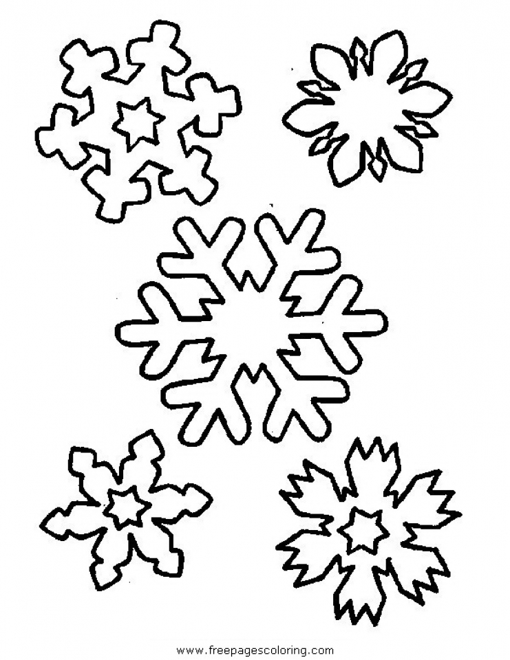 Get This Free Snowflake Coloring Pages to Print Out 31748 !