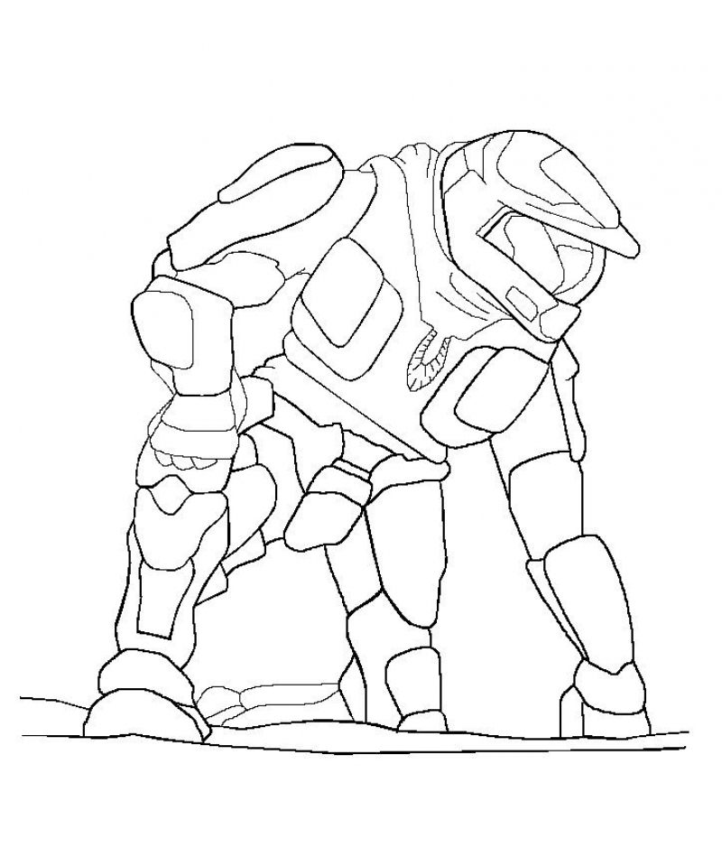 Halo Coloring Pages Online   ay769