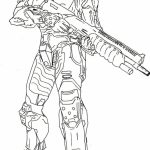 Halo Coloring Pages Printable for Boys   w16ah