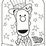 Happy 4th of July Coloring Pages   uvb31
