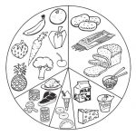 healthy food coloring pages - 7cb4a