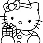 hello kitty coloring pages christmas   3xbdt