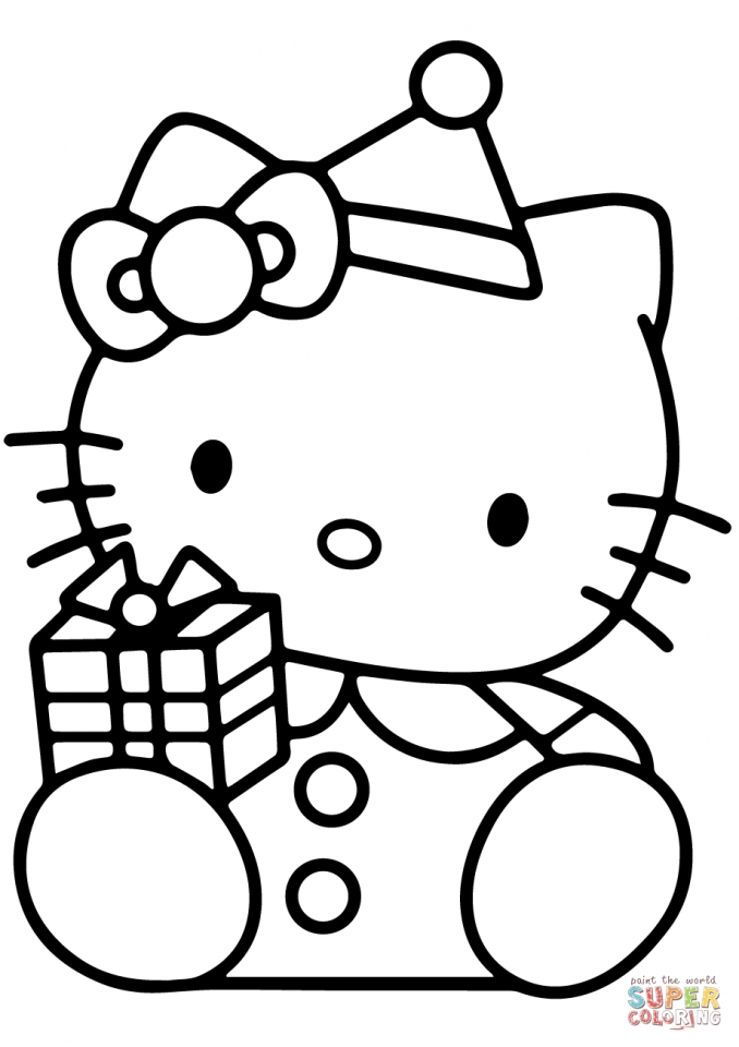 hello kitty coloring pages that you can print - get this hello kitty coloring pages christmas 3xbdt